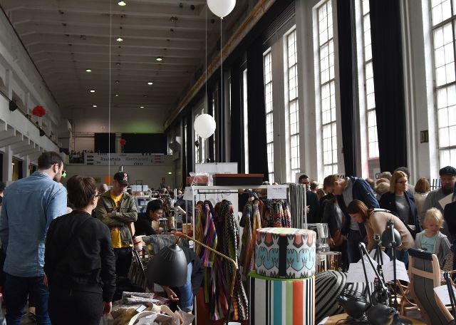 Helsinki Design Week, Kaapelitehdas, Helsinki, Design outlet, merikaapelihalli