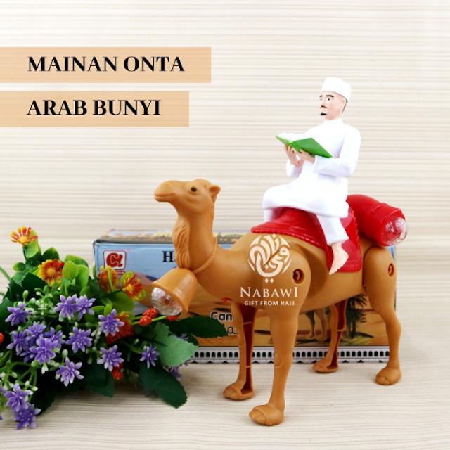 Mainan Onta Arab Bunyi,oleh oleh haji dan umroh, perlengkapan haji dan umroh, mekkah, madinah, arab.