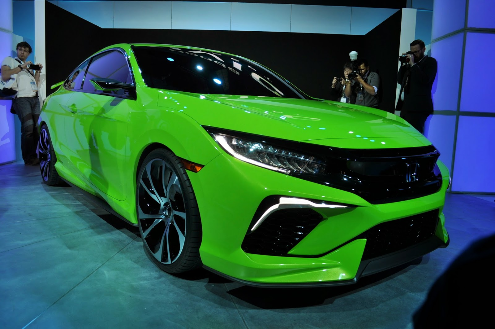 Luxury Car Honda Civic Concept 2015