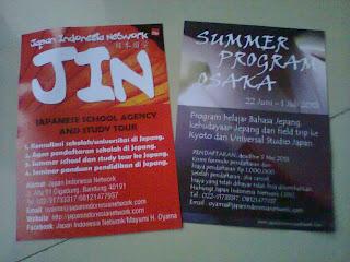Japan Indonesian Network & Summer Program Osaka Japan Study Fait ITB 2013