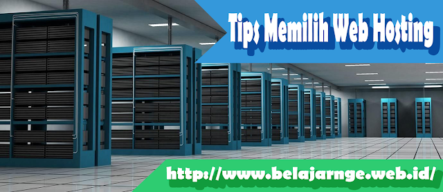 cara memilih web hosting