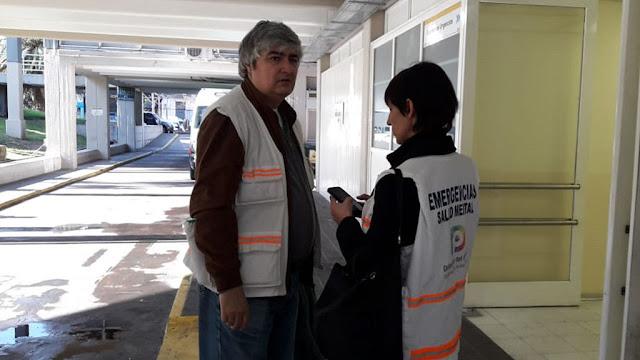 La Defensoría Defensoría del Pueblo brindó asistencia a los afectados por un incendio en Parque Centenario
