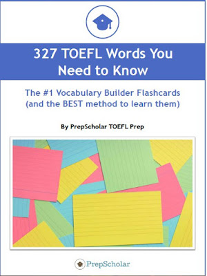 327 TOEFL Words You Need to Know