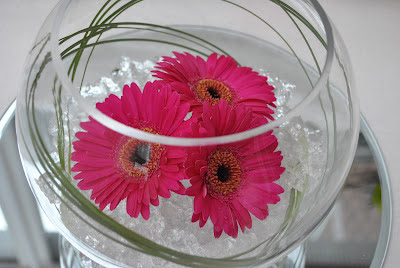 Lucy's flower studio: Gerbera Fish bowl