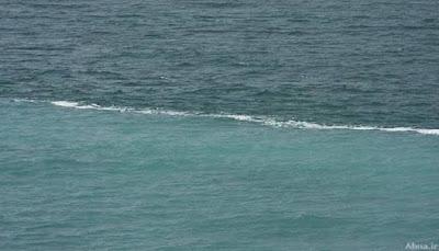 Ini Lokasi Laut Dua Warna yang Disebut dalam Al Quran
