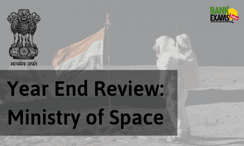 Year End Review: Ministry of Space