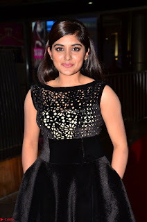 Niveda Thomas Black Sleeveless Cute Dress at 64th Jio Filmfare Awards South 2017 ~  Exclusive 052.JPG