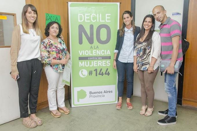 Provincia y Municipio trabajan conjuntamente en contra a la violencia de género