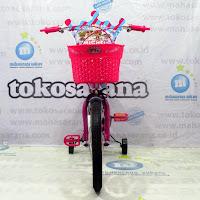 Sepeda Anak Michel Lolipop CTB 4-7 Tahun Steel Tutup Pentil Nyala 16 Inci