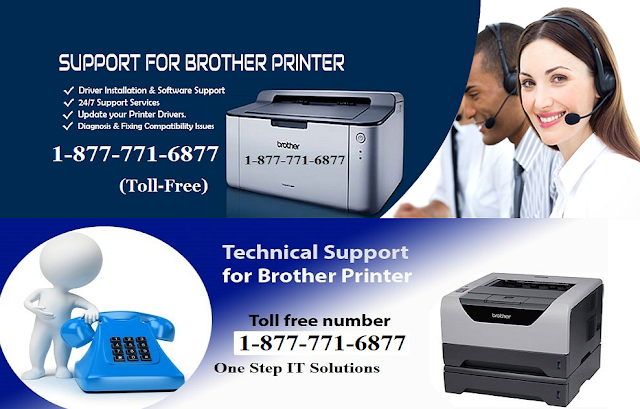 Why Need Brother Printer Technical Support Number – Call 1-877-771