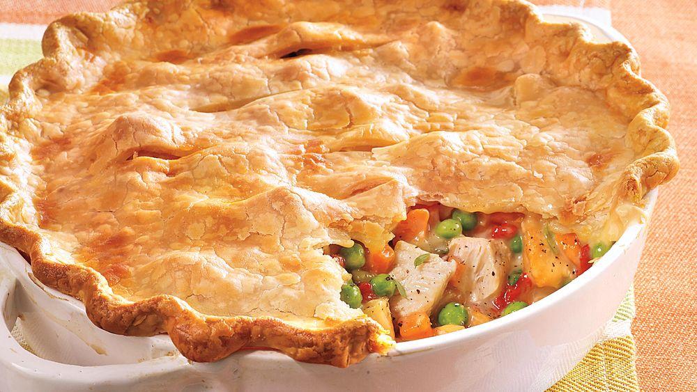 BECKSTREET: Rebecca's Chicken Pot Pie & Butter Flake Crust