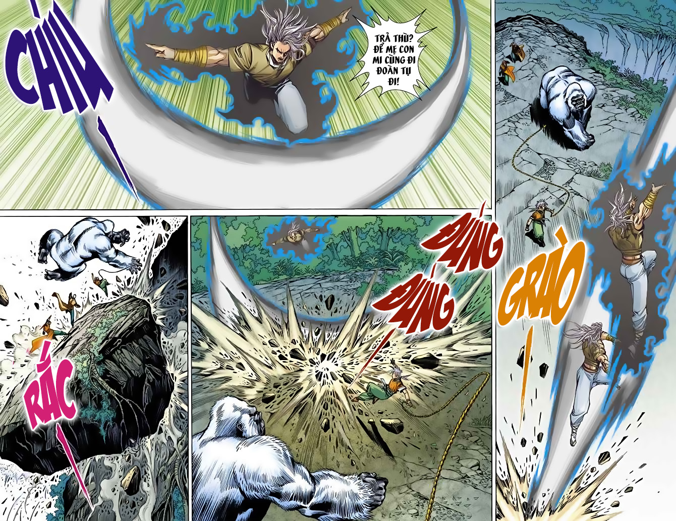 Bạch Phát Quỷ chap 7 - Trang 13