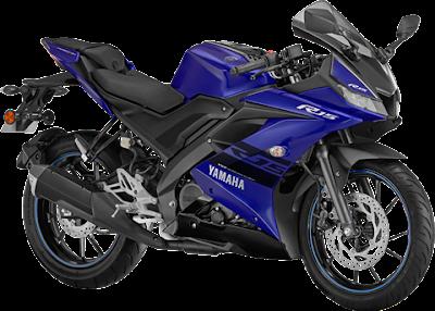 Top 10 bikes in India,Yamaha R15 V3