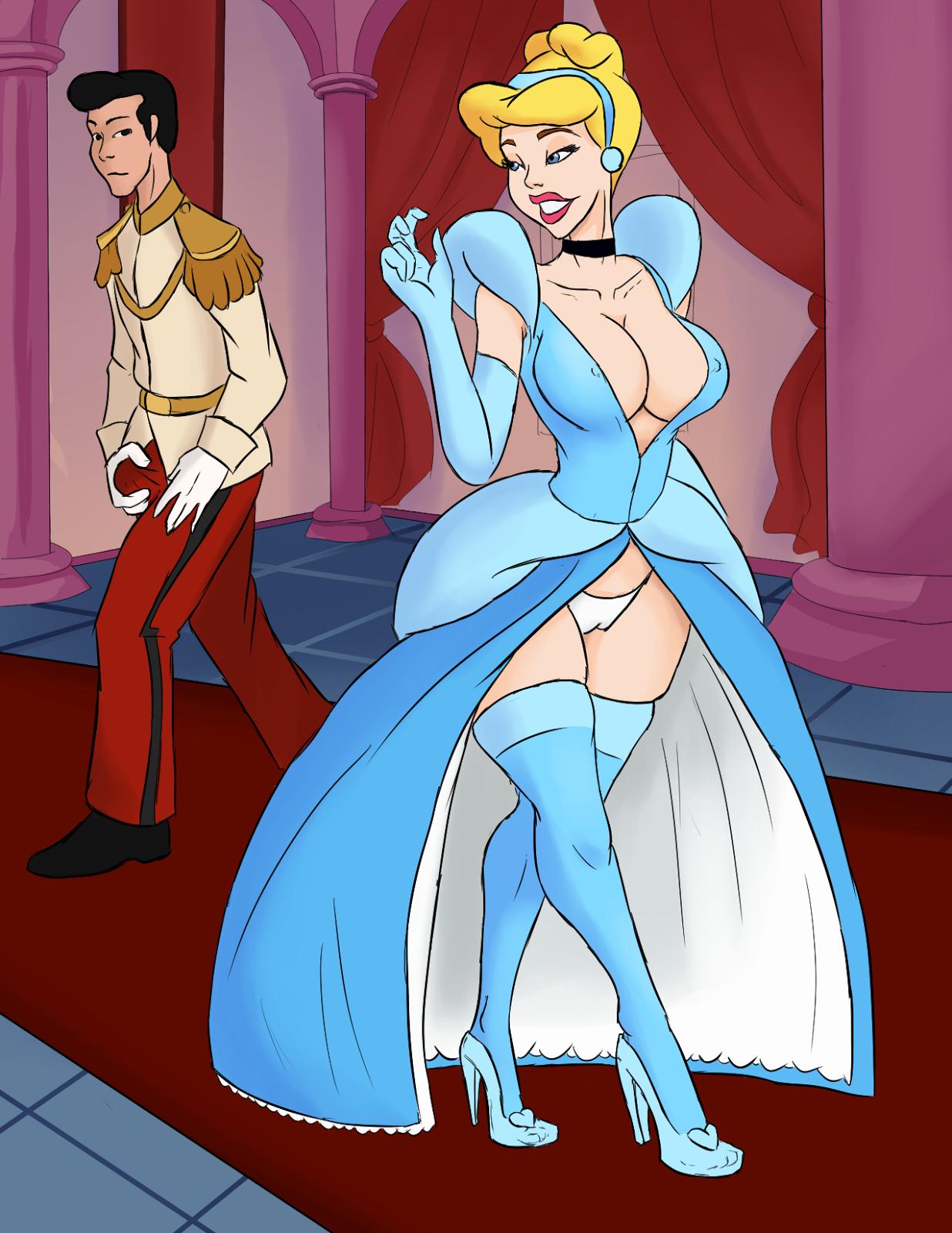 Cinderella Porno