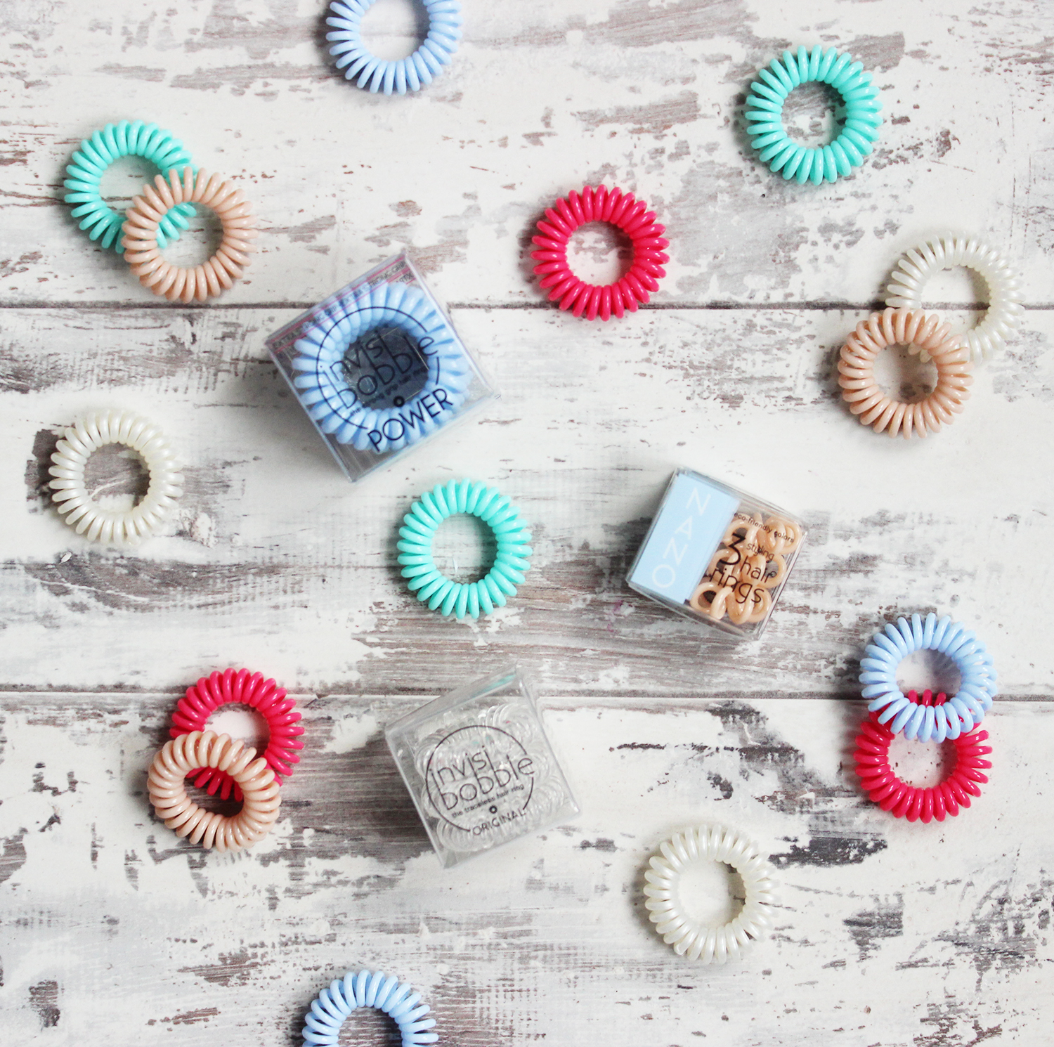 Invisibobble spring launches - Power and Nano