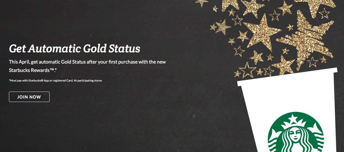 Rewards Canada: April 12 Update: Starbucks Rewards Gold