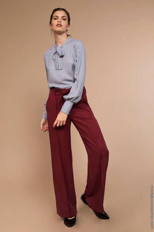 Pantalones invierno 2018 ropa de moda mujer.