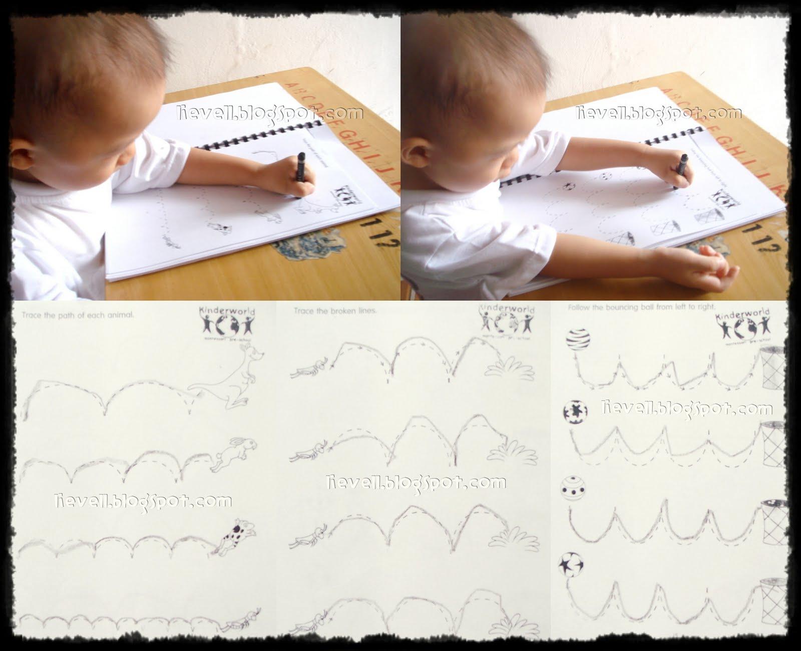 Simply Hood Workbook Tracing Wavy Lines