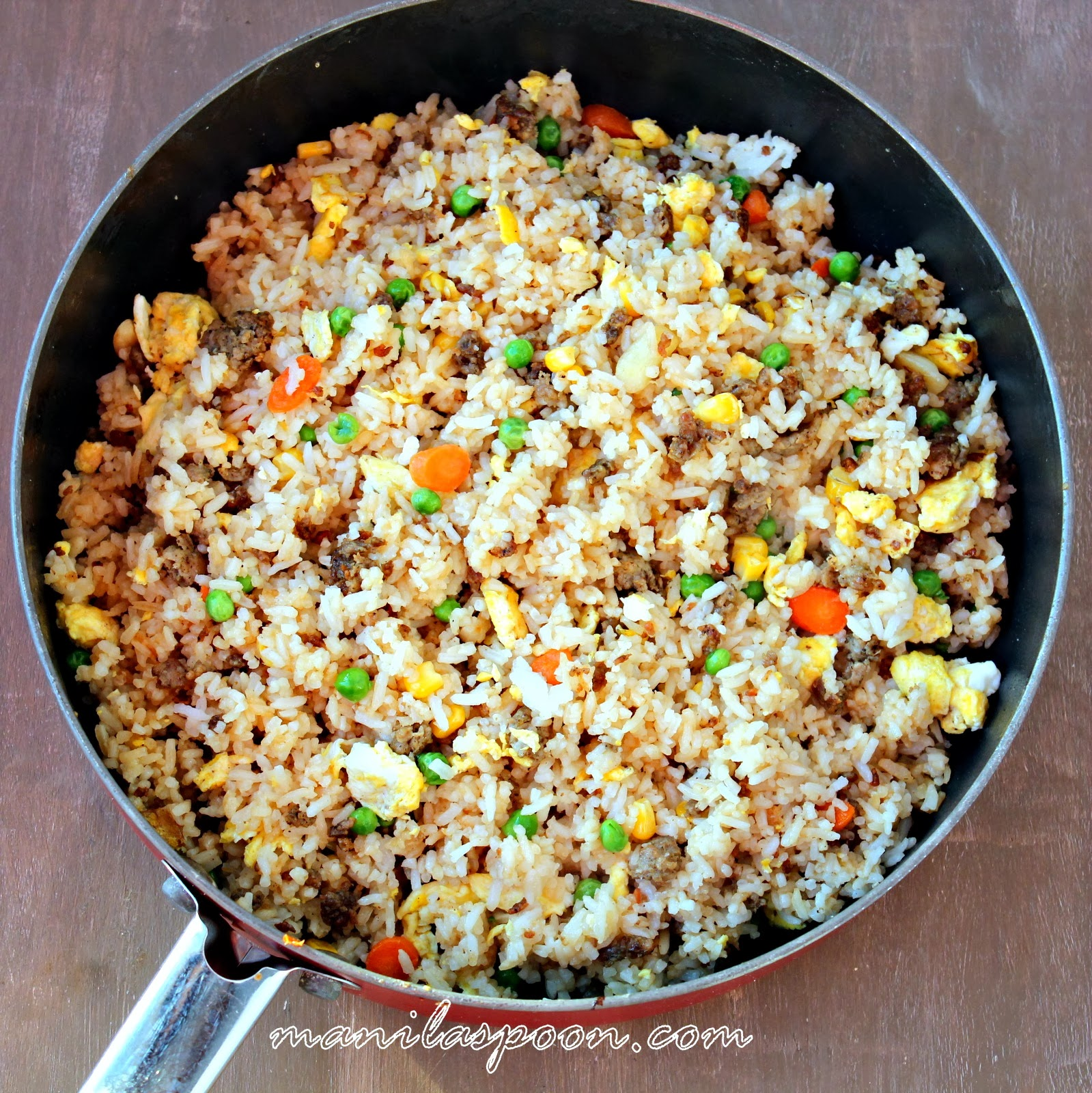 Sausage And Egg Fried Rice Manila Spoon