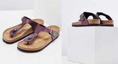 sandalias para mujer de Birkenstock en color malva