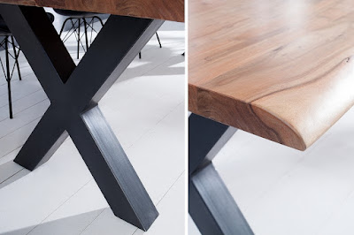 moderný nábytok Reaction, nábytok z masívu a kovu, industrialny nábytok