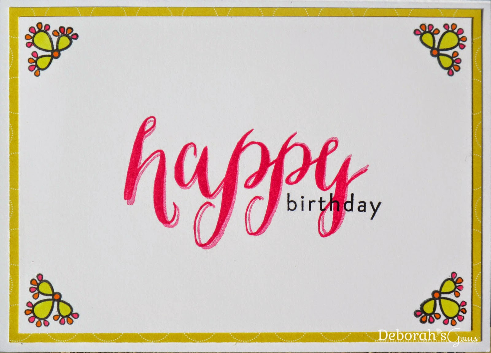Birthday Wishes inside - photo by Deborah Frings - Deborah's Gems