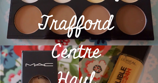 Confessions of a Shopaholic: Trafford Centre haul ~ Nicole Lauren Blake