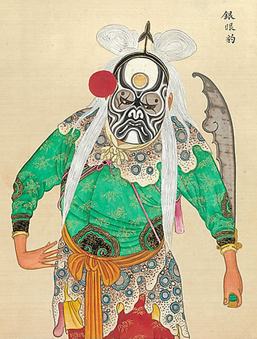 Peking Opera characters - http://www.metmuseum.org/collection/the-collection-online/search/51581