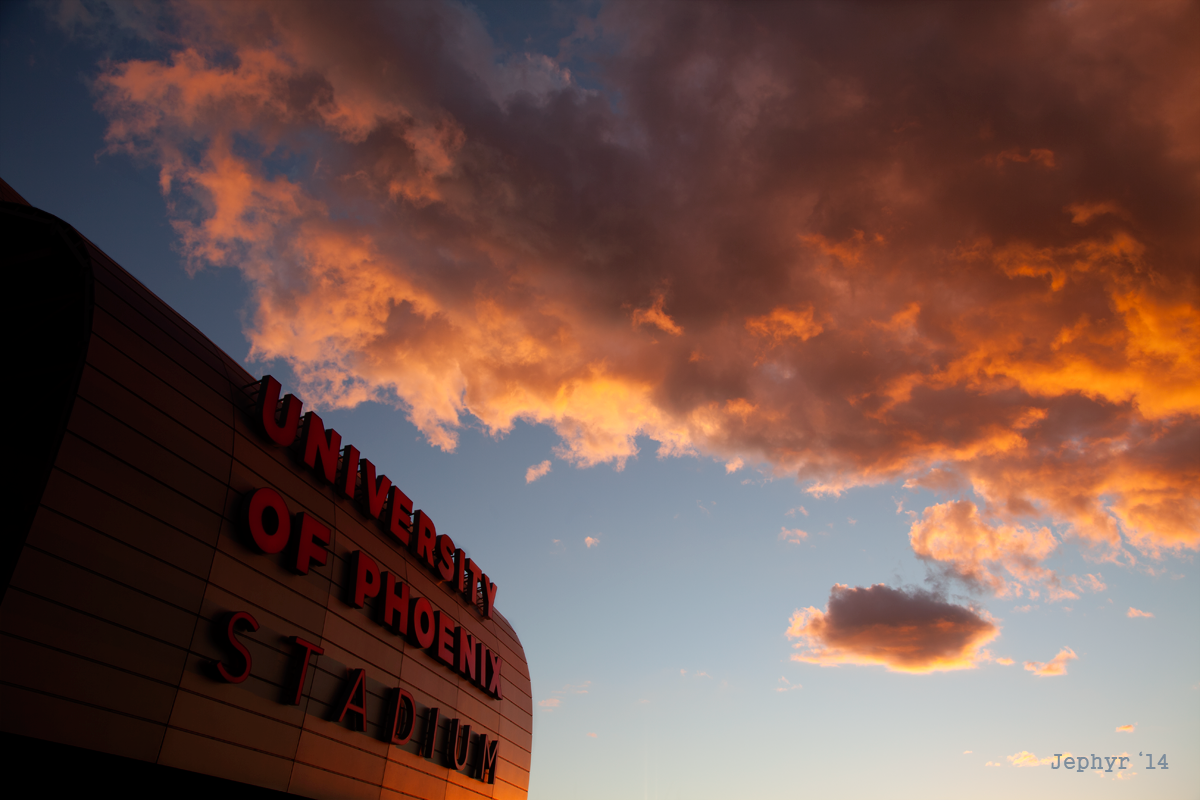 Stadium Sky - Copyright 2014, Jephyr - All Rights Reserved