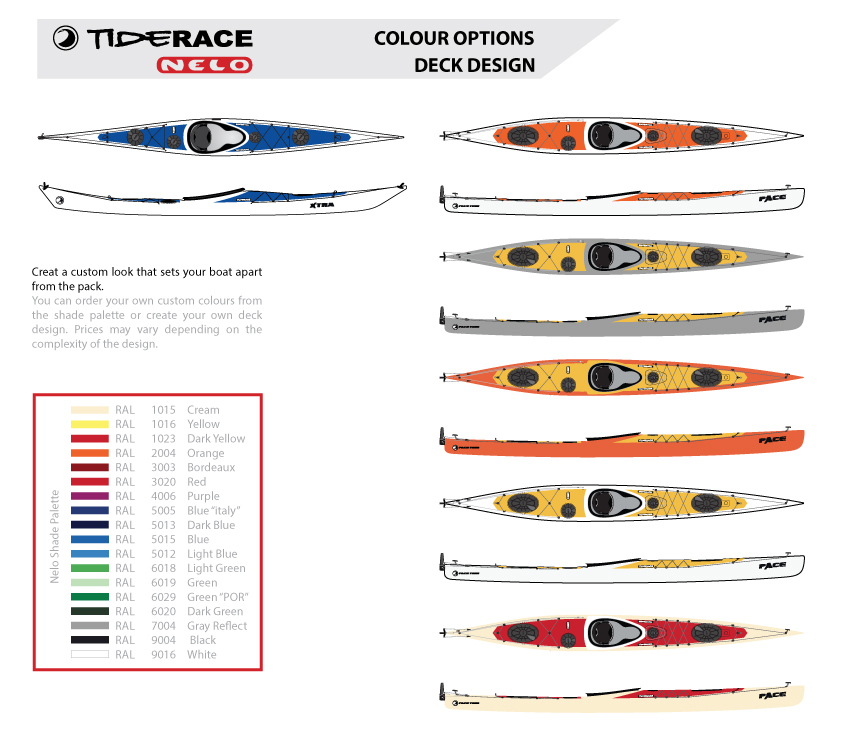 Expedition Kayaks: Tiderace Sea Kayaks & Nelo Portugal
