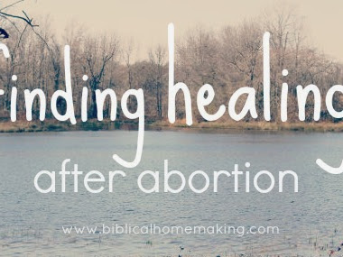 Jesus gives victory over death: finding healing after abortion