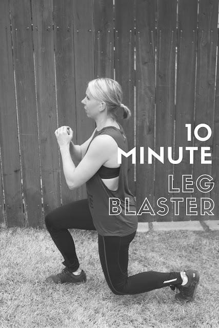 10 Minute Leg Blaster