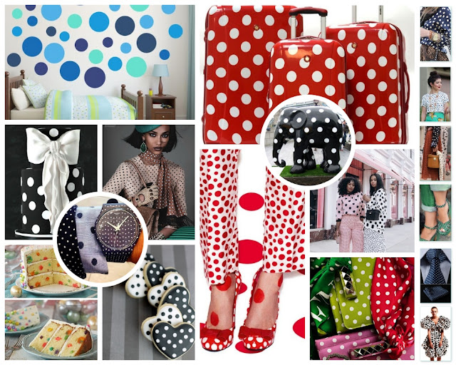 April 2019, Mood Boards, Spring Boards, Polka Dots, The Low Country Socialite, Plus Size Blogger, Savannah Georgia, Hinesville Georgia, Kirsten Jackson