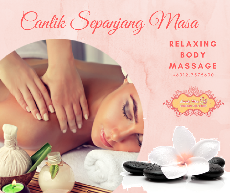 RELAXING BODY MASSAGE @RM68