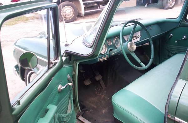 Original 1962 Studebaker Lark Sedan Auto Restorationice