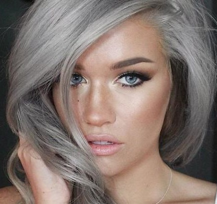 Colore di capelli di quest anno tagli di capelli alla - Bagno di colore grigio capelli ...