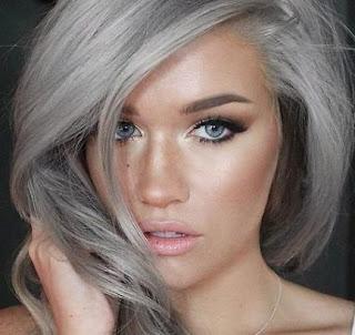 tinte per capelli di moda: il grigio