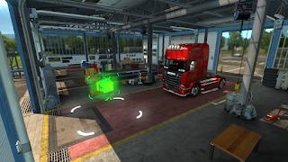 ets2 mods, recommendedmodsets2, Frkn64's Modern Garage Mod, euro truck simulator 2 mods, ets2 realistic mods, ets 2 modern garage mod v1.3 screenshots6