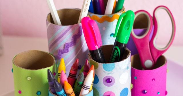 Kids Craft Week Diy Desk Organizer Design Improvised