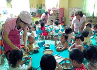 Sáng kiến kinh nghiệm nuôi dưỡng trẻ mầm non