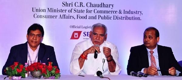 jaipur, rajasthan, india gemstone week, union minister CR Chaudhary, hotel fairmont, fairmont kukas, kukas jaipur, jaipur news, rajasthan news