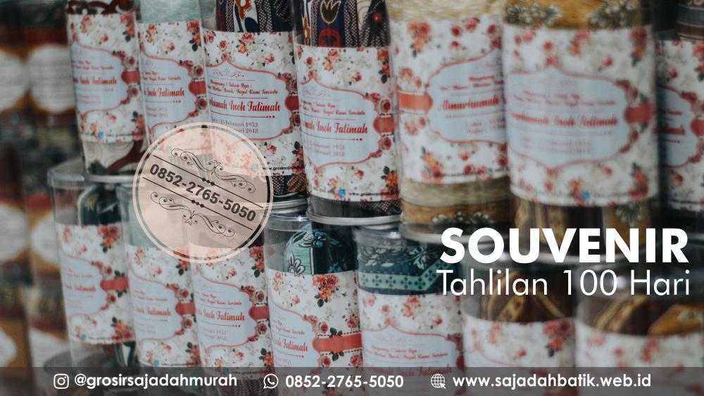 souvenir tahlilan 100 hari, 0852-2765-5050