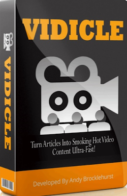Vidicle repurposes your content into videos fast