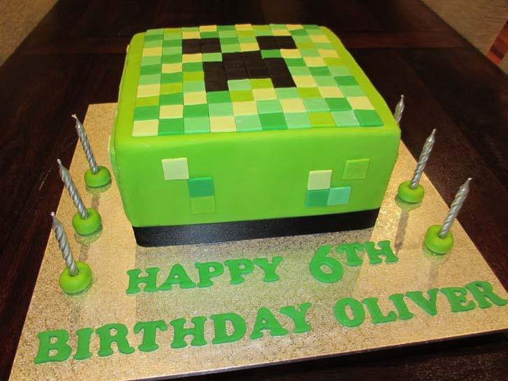 Minecraft Birthday Cake Ideas Cake Magazine