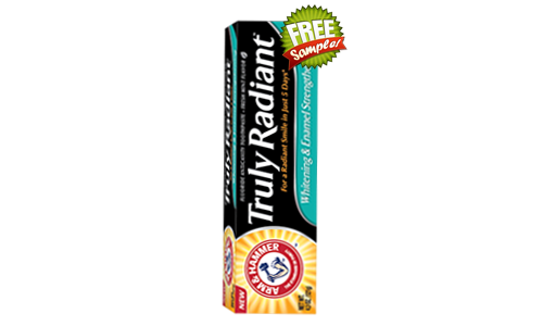 FREE Arm & Hammer Truly Radiant Toothpaste Sample, FREE Sample of Arm & Hammer Truly Radiant Toothpaste, Arm & Hammer Truly Radiant Toothpaste FREE Sample, Arm & Hammer Truly Radiant Toothpaste, FREE Truly Radiant Toothpaste Sample, FREE Sample of Truly Radiant Toothpaste, Truly Radiant Toothpaste FREE Sample, Truly Radiant Toothpaste