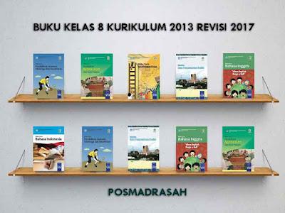 Kali ini pos madrasah akan membagikan buku madrasah atau sekolah kelas  Geveducation:  Buku Kelas 8 Kurikulum 2013 Revisi 2017 SMP/MTs untuk Guru dan Siswa