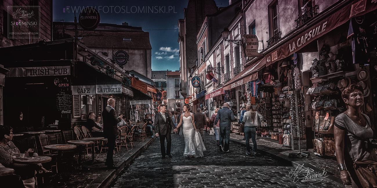Fotografia ślubna Wrocław - Sesja ślubna w Paryżu #ZdjęciaSłomińskiego.