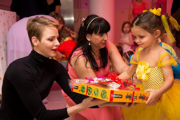 Princess Charlene And Prince Albert Activity Just Prior To Christmas 2015
