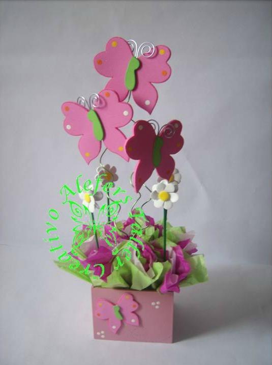 Alefers tienda on line mariposas y flores - Detalles para cumples infantiles ...