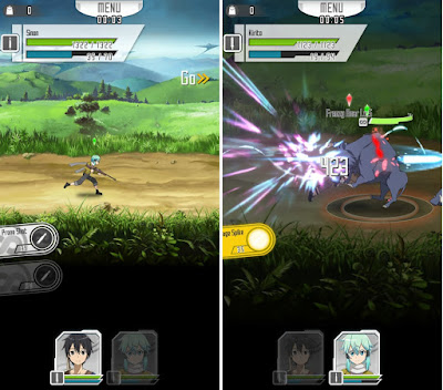 Screenshot Sword Art Online Memory Defrag